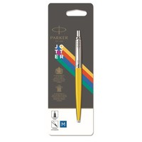 Шариковая ручка Parker JOTTER 17 Plastic Yellow CT BP блистер 15 336